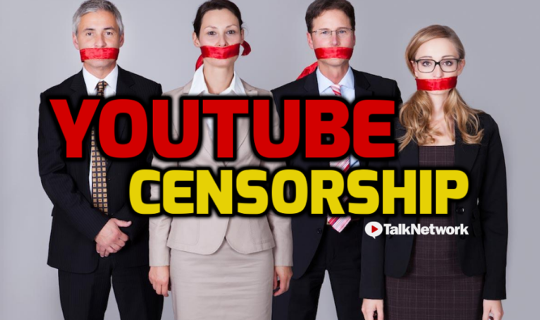 YouTube Admits They Have Been Censoring Independent News Channels